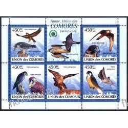 Komory 2009 Mi ark 2407-11 ** Ptaki Orzeł Kolekcje