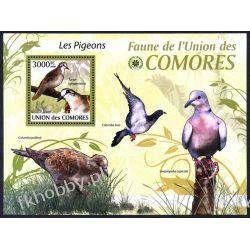 Komory 2009 Mi BL 521 ** Ptaki Gołąb Kolekcje