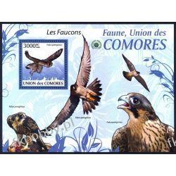 Komory 2009 Mi BL 525 ** Ptaki Ptak Orzeł Kolekcje