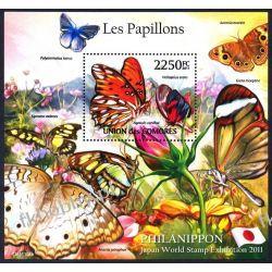 Komory 2011 Mi BL 619 ** Motyl Motyle Owady Owady
