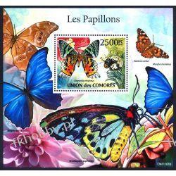 Komory 2011 Mi BL 621 ** Motyl Motyle Owady Owady