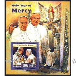 Sierra Leone 2016 Mi BL 1033 ** Papież Franciszek Benedykt Religia i Papież