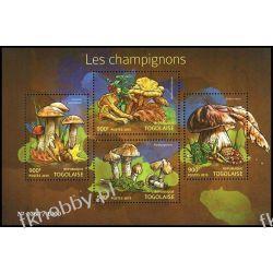 Togo 2015 Mi ark 6862-65 ** Grzyby Flora
