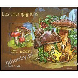 Togo 2015 Mi BL 1189 ** Grzyby Flora