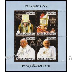 Gwinea Bissau 2005 ark 3008-11 ** Jan Paweł II Papież Złoto Religia i Papież