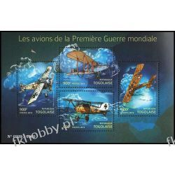 Togo 2015 Mi ark 6902-05 ** Samoloty Lotnictwo Kolekcje