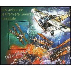 Togo 2015 Mi BL 1197 ** Samoloty Lotnictwo BŁĄD !!! Kolekcje
