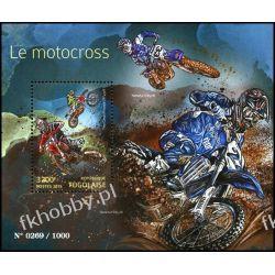 Togo 2015 Mi BL 1198 ** Motocros Motocykl Sport