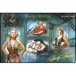 Togo 2015 Mi ark 6932-35 ** Marilyn Monro Film Pozostałe