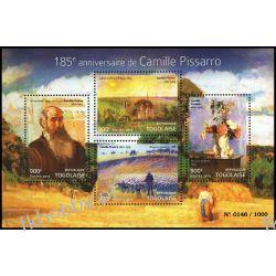 Togo 2015 Mi ark 6917-20 ** Camille Pissarro Malarstwo Kolekcje