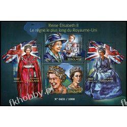 Togo 2015 Mi ark 6942-45 ** Rodzina Królewska Elżbieta II Pozostałe
