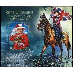 Togo 2015 Mi BL 1205 ** Rodzina Królewska Elżbieta II Pozostałe
