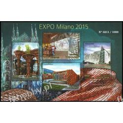 Togo 2015 Mi ark 6962-65 ** EXPO Milano Pozostałe