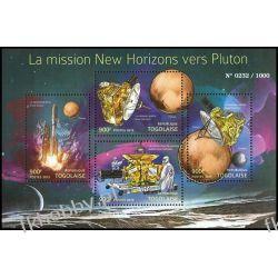Togo 2015 Mi ark 6967-70 ** Pluton Kosmos Satelita Rakieta Kosmos