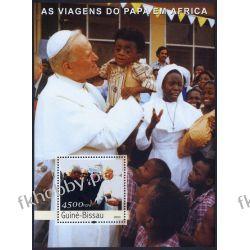 Gwinea Bissau 2003 BL 445 ** Jan Paweł II Papież Religia i Papież