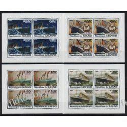 Burundi 2011 Mi ark 2170-73 ** Statek Okręt Titanic Pozostałe