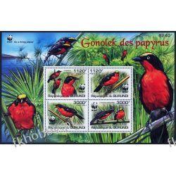 Burundi 2011 Mi BL 170 ** WWF Ptaki Ptak Kolekcje