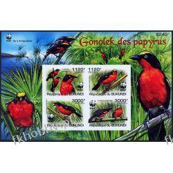 Burundi 2011 Mi BL 170 B ** WWF Ptaki Ptak Kolekcje