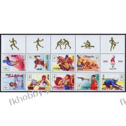 Mongolia 1996 Mi 2633-41Zf ** Olimpiada Atlanta B Kolekcje