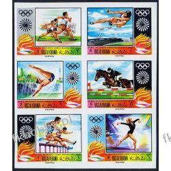 Ras Al Chajma 1970 Mi 384-89B ** Olimpiada Monachium Kolekcje