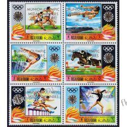 Ras Al Chajma 1971 Mi 540-45 ** Olimpiada Monachium