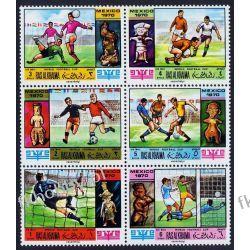 Ras Al Chajma 1970 Mi 354-59 ** Piłka Nożna Sport Kolekcje