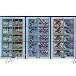 Ajman 1971 Mi ark 1141-46 ** Olimpiada Sapporo Rotary Kolekcje