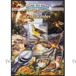 Niger 2013 Mi BL 151 ** Ptak Ptaki Gołąb Kolekcje