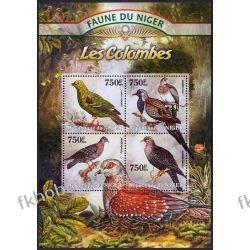Niger 2013 Mi ark 2051-54 ** Ptak Ptaki Gołąb Kolekcje