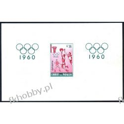 Paragwaj 1960 Mi 840 B ** Olimpiada Rzym Filatelistyka