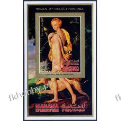 Manama 1971 Mi BL 134B ** Mitologia Erotyka Pies Filatelistyka