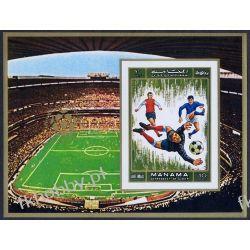 Manama 1972 Mi BL 139B ** Piłka Nożna Sport Sport