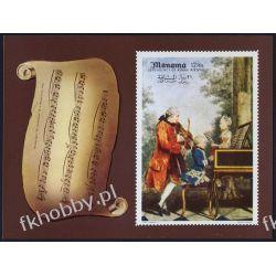 Manama 1969 Mi BL 34B ** Mozart Kompozytor Muzyka Pozostałe