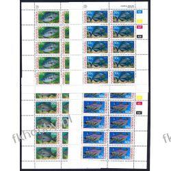 Namibia 1994 Mi ark 764-67 ** Ryby Ryba Filatelistyka