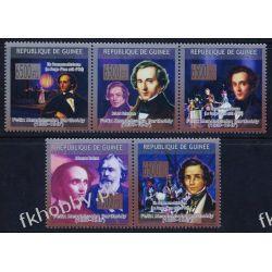 Gwinea 2009 Mi 6630-34 ** Felix Mendelssohn Muzyka Pozostałe