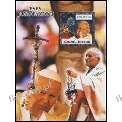 Gwinea Bissau 2005 BL 497 ** Jan Paweł II Papież Srebro Religia i Papież