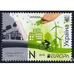 Ukraina 2016 Mi 1540 ** Europa Cept Wspólne Wydanie Kolekcje