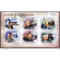 Mozambik 2011 ark 4819-24 ** Lech Wałęsa Gorbaczow Obama Kolekcje