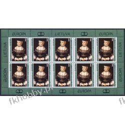 Litwa 1996 Mi ark 608 ** Cept Barbara Radziwiłówna Królowa Kolekcje