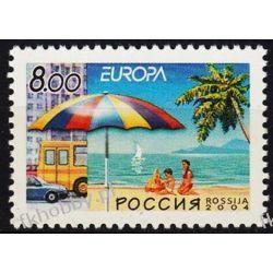 Rosja 2004 Mi 1172 ** Europa Cept Samochód Morze Kolekcje