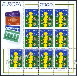 Irlandia 2000 Mi ark 1223 ** Europa Cept Wspólne Pozostałe