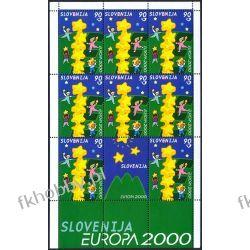 Słowenia 2000 Mi ark 310 ** Europa Cept Wspólne Pozostałe