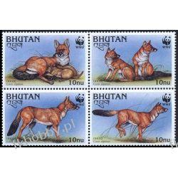 Bhutan 1997 Mi 1687-90 Zwierzęta WWF Pies B Kolekcje