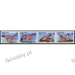 Bhutan 1997 Mi 1687-90 Zwierzęta WWF Pies C Kolekcje