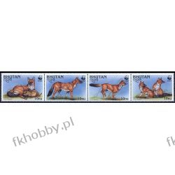 Bhutan 1997 Mi 1687-90 Zwierzęta WWF Pies E Kolekcje
