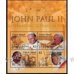 Saint Vincent Un. 2005 ark 335-38 ** Jan Paweł II Papież Religia i Papież