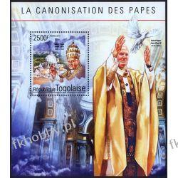 Togo 2014 Mi BL 1090 ** Jan Paweł II Papież Religia i Papież
