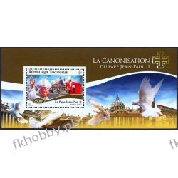 Togo 2014 Mi BL 1112 ** Jan Paweł II Papież Religia i Papież