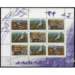 Rosja 1992 Mi ark 254-56 ** Ptaki Kaczki Ptaki