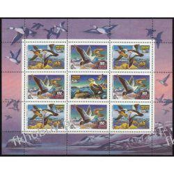 Rosja 1992 Mi ark 320-22 ** Ptaki Kaczki